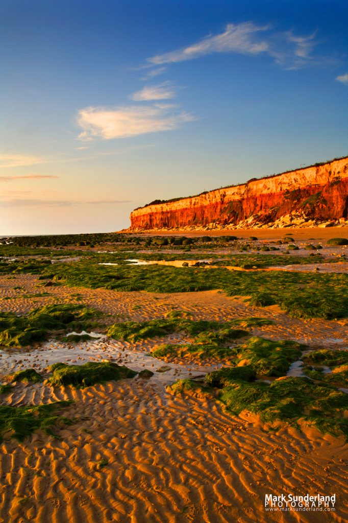 Hunstanton Cliffs at Sunset